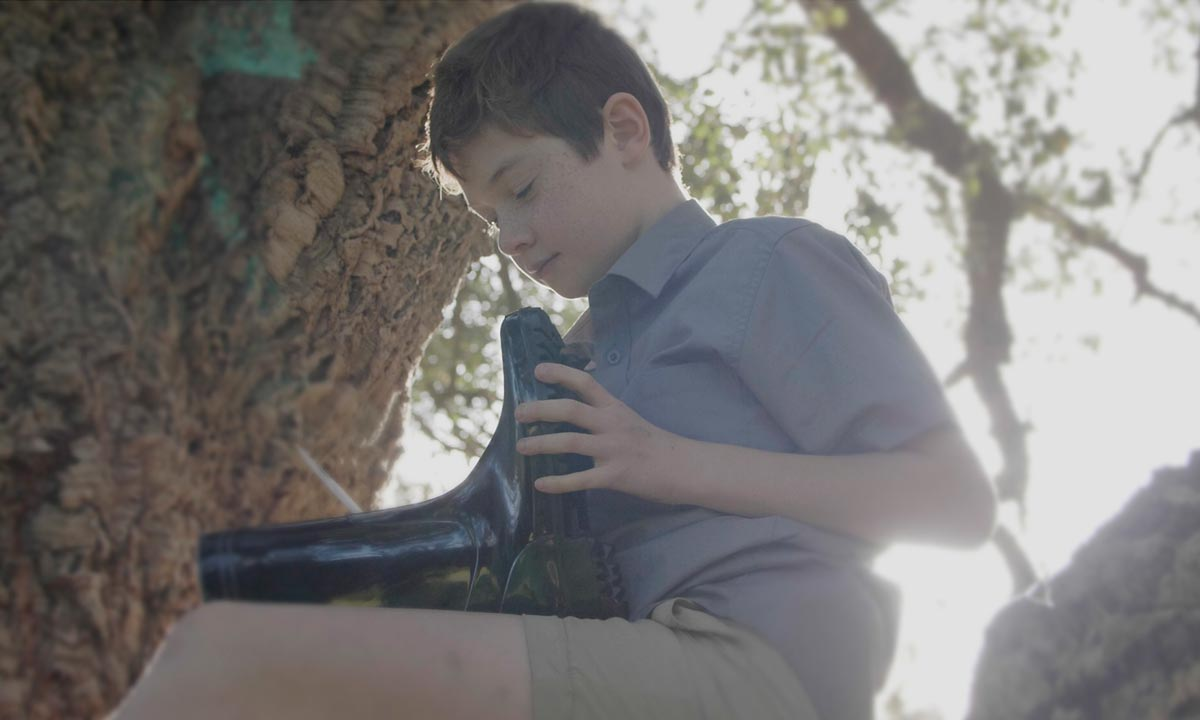 Film still - Colin as a little boy played by Theo Masters